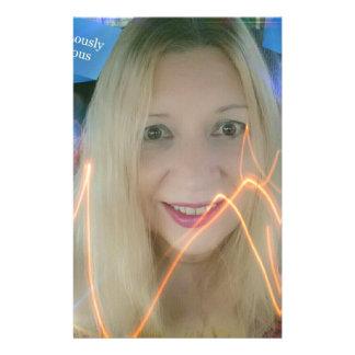 Susie de iluminação infame papelaria