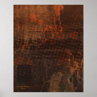 Sustente o impressão do abstrato da arte da