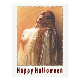 Susto assustador do cartão do Dia das Bruxas