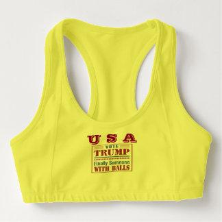 Sutiã Esportivo O costume das mulheres ostenta o sutiã com EUA