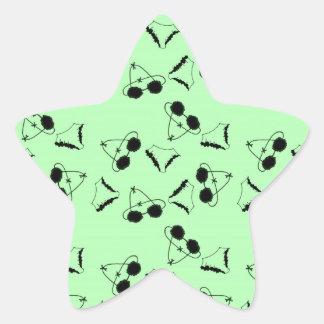 Sutiãs pretos adesito estrela