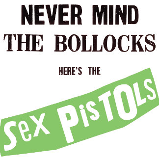 Never Mind the Bollocks Logo