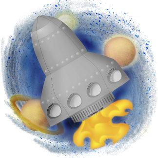 Gray Rocketship