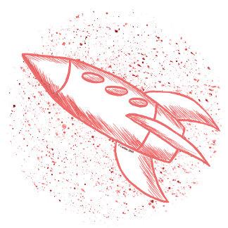 Red Rocketship