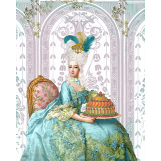 Marie Antoinette in Aqua