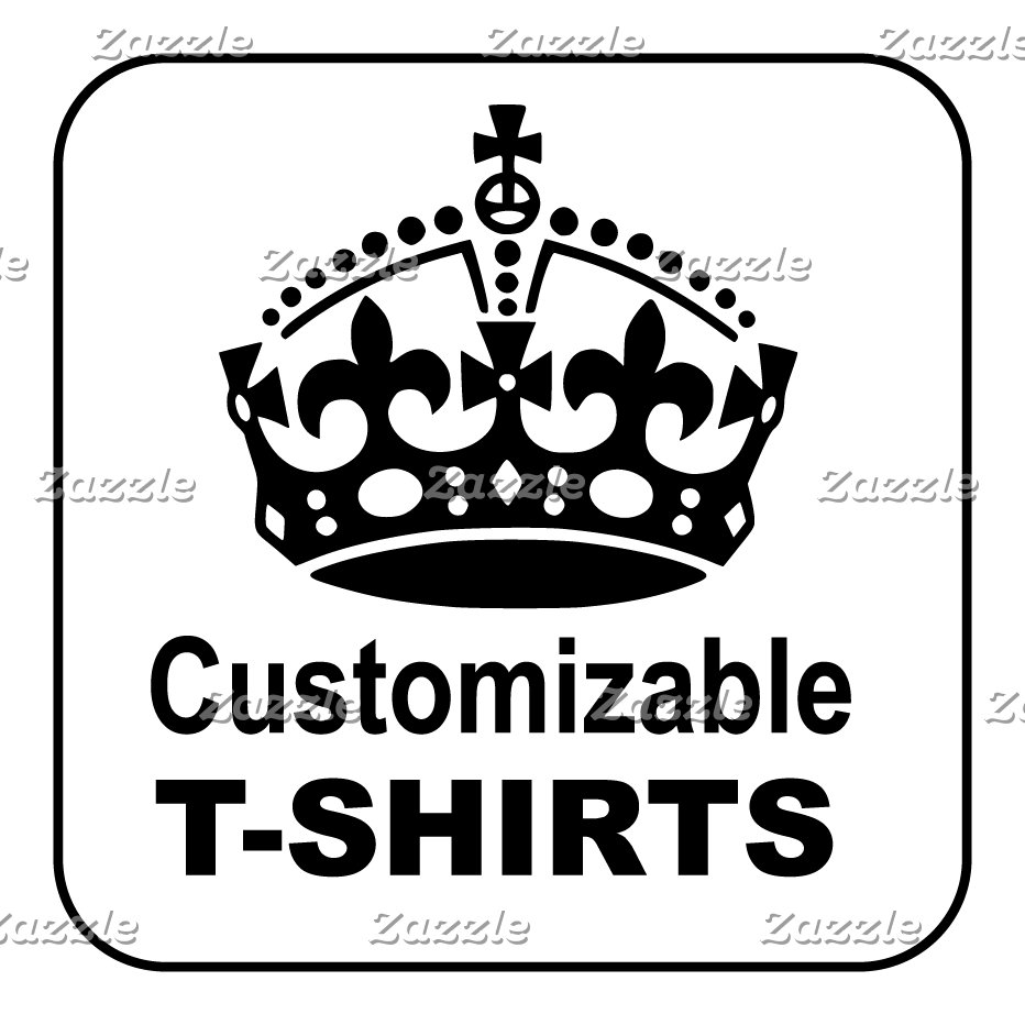 Customizable Keep Calm T-Shirts
