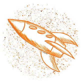 Orange Rocketship
