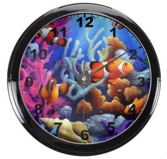Aqua Clocks/Betta Bowls