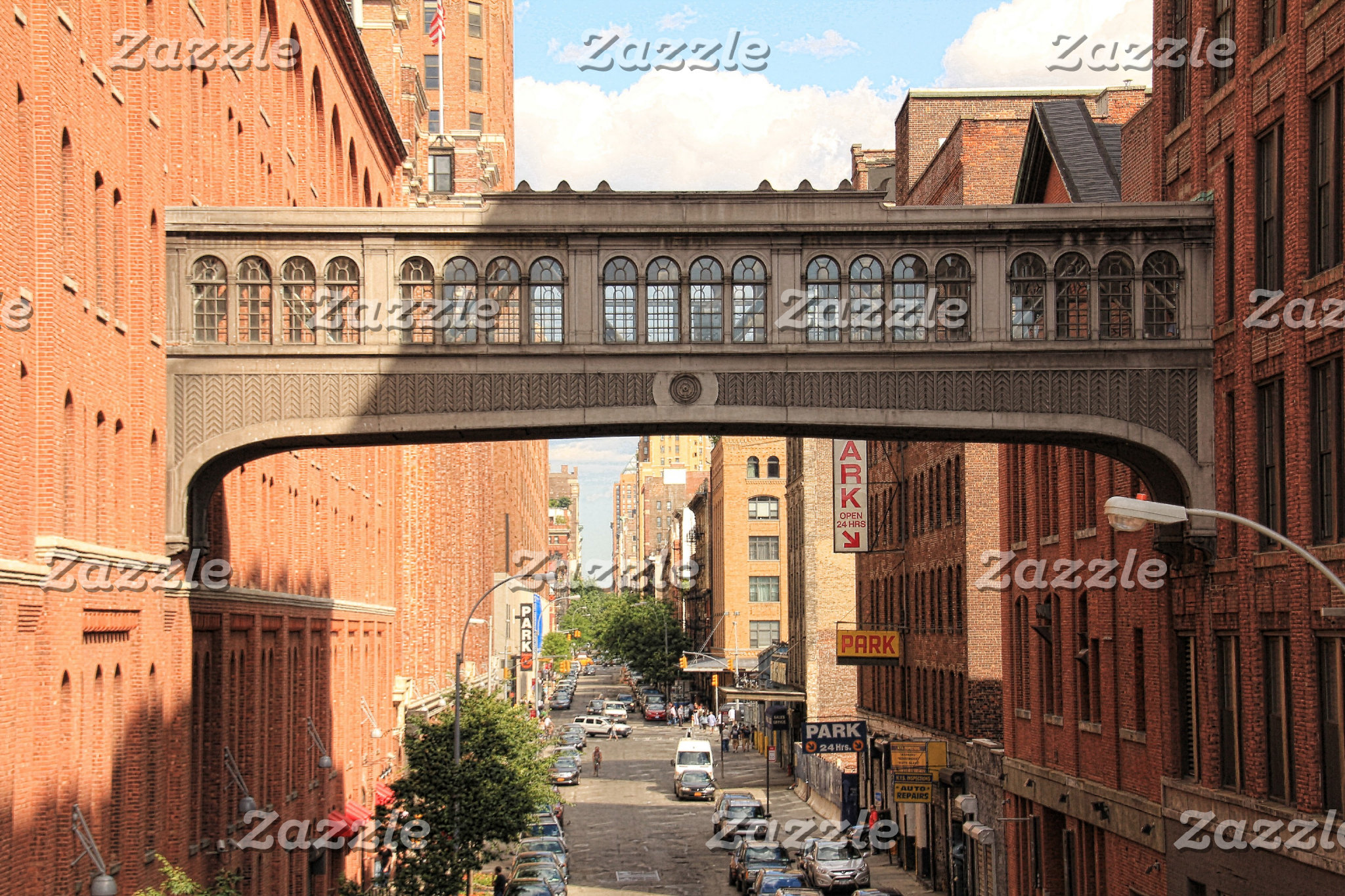 Views of / from The High Line Park, New York City