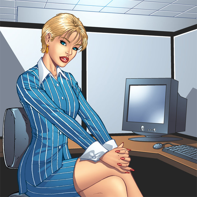 Business and Working Women Art and Illustrations
