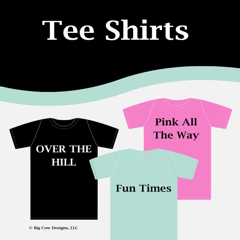 All Tee Shirts