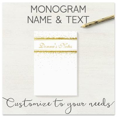 Monogram, Name & Text