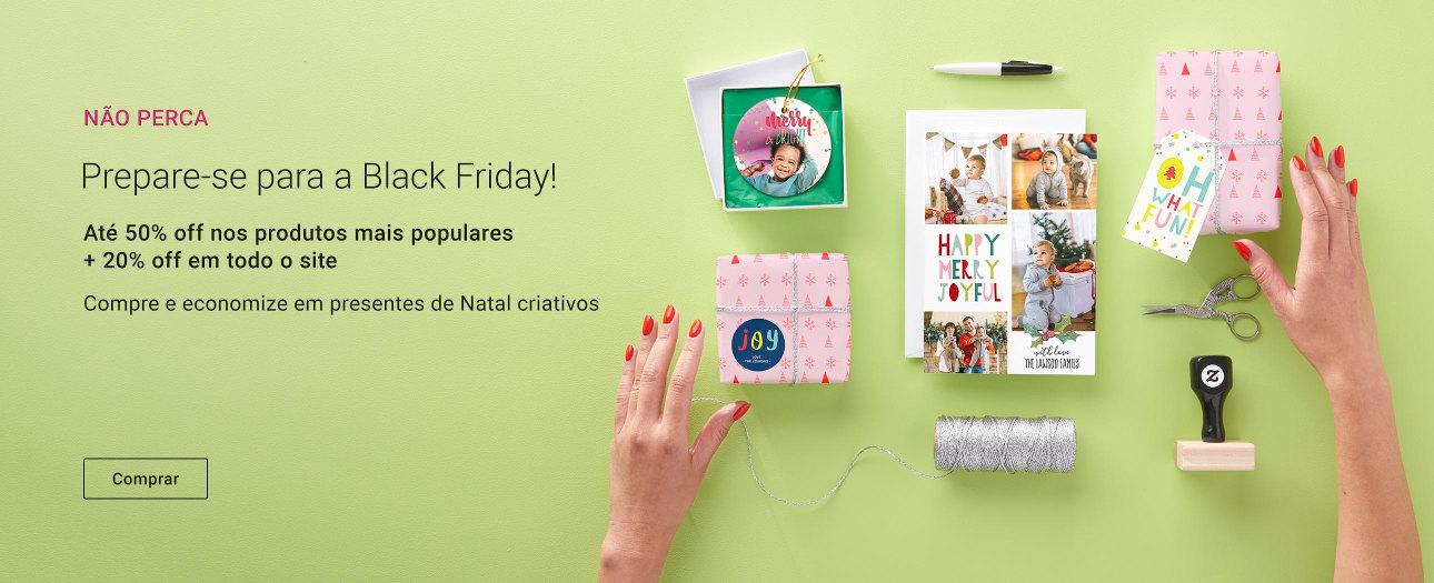 Semana Black Friday na Zazzle   Até 50% off nos produtos mais populares