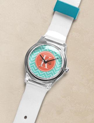 Relógios com Iniciais na Zazzle