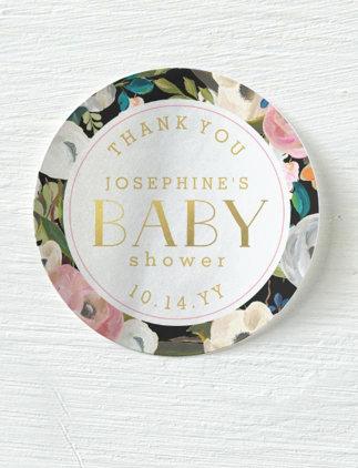 Adesivos para Chá de Bebê