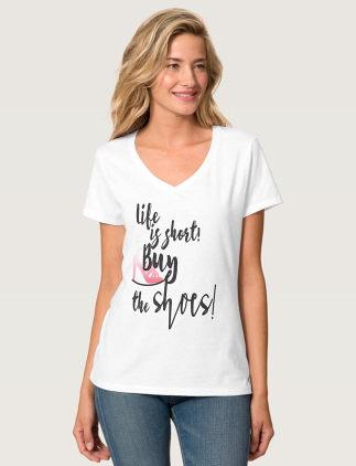 Camisetas Femininas na Zazzle