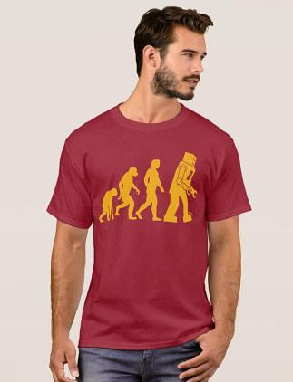 Camisetas masculinas personalizáveis na Zazzle