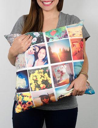 Almofadas personalizáveis com fotos na Zazzle