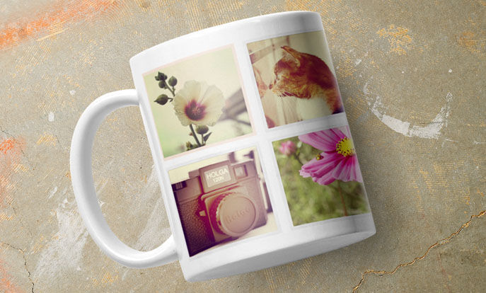 Create your own mugs and personalize by color, design, or style.