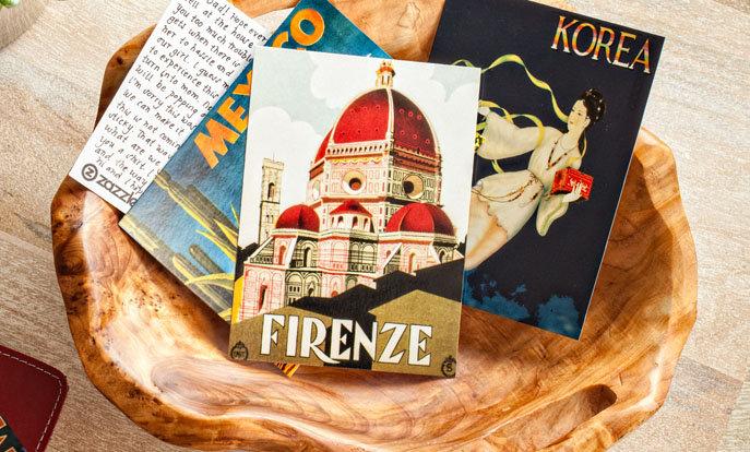 Cartões Postais de Viagem