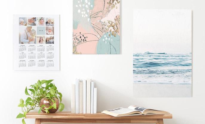 Encontre pósteres e artigos de decoração de parede personalizáveis na Zazzle