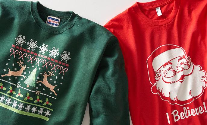 moletons medonhos de natal. Tradicionais ugly christmas sweatshirts