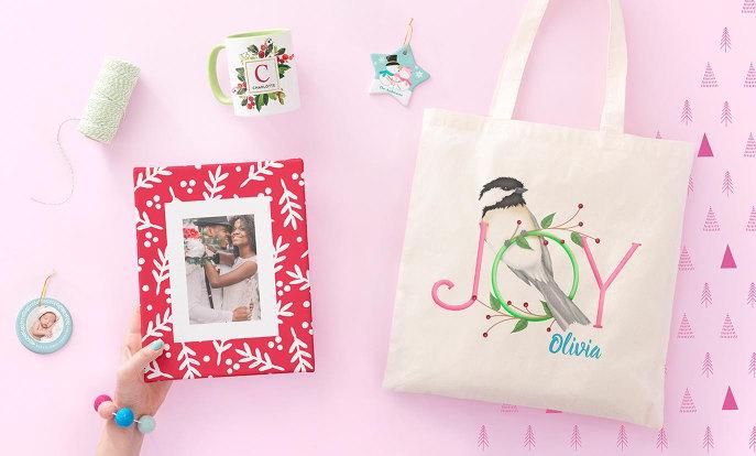 Presentes de Natal personalizáveis para ela | Zazzle