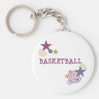 swirlystar-basketball-10x10 chaveiro
