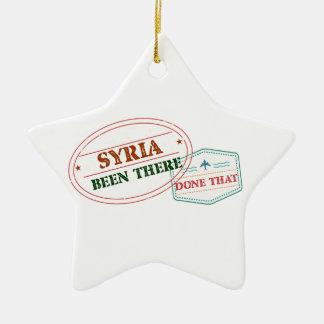 Syria feito lá isso ornamento de cerâmica estrela