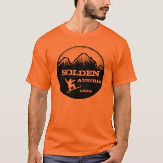 T alaranjado da arte do snowboard de Solden Camiseta