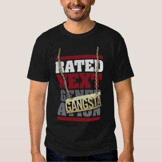 T avaliado da próxima geração (Gansta) Camisetas
