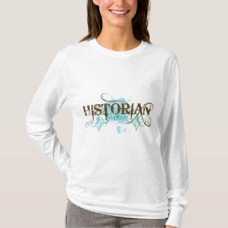 T azul legal do historiador tshirts