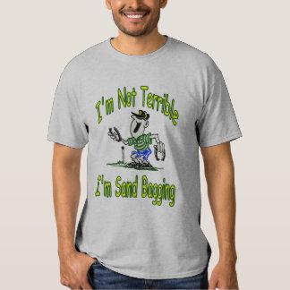 T básico de Baggin da areia das ferraduras Camisetas