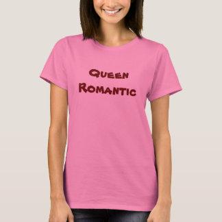 T-camisa-rainha do dia dos namorados romântica tshirts