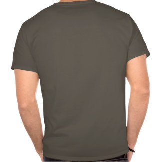 T clássico do metro da queda camiseta