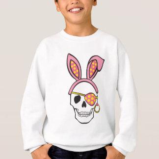 T cor-de-rosa do crânio do pirata t-shirts