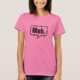 T cor-de-rosa engraçado da camisa | de Meh para