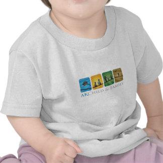 T da criança da criança da família de AK T-shirt