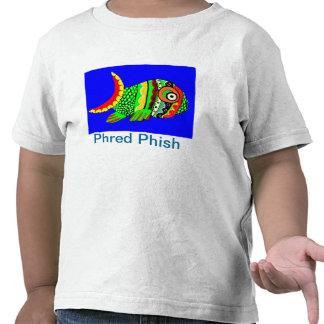 T da criança de Phred Phish T-shirt