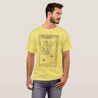 T da ilha do tesouro: Um mapa do tesouro do Camiseta