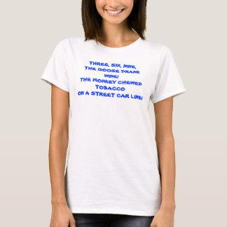 T da senhora da RIMA de S das CRIANÇAS ' Camiseta