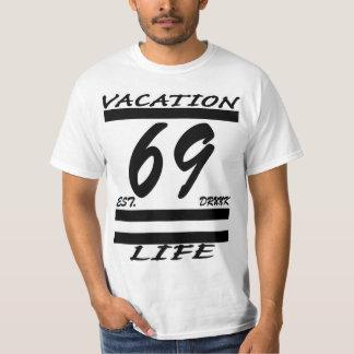 T das férias 69 tshirt