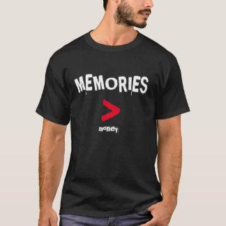 T das memórias tshirts