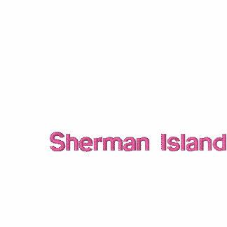 """T das senhoras da ilha de Sherman das """"linhas"""