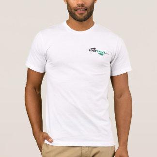 T de alta qualidade da pegada tshirt