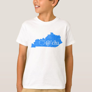 T de Kentucky do Appalachian do miúdo T-shirt