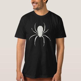 T desvanecido do símbolo da aranha do giz do tshirts