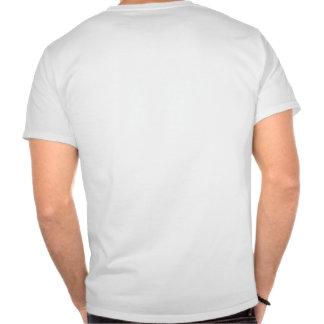 T desvanecido/texto preto tshirts