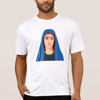 T do Active dos homens da Virgem Maria Camiseta