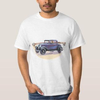 T do automóvel do vintage do 1920 do baixo custo tshirt